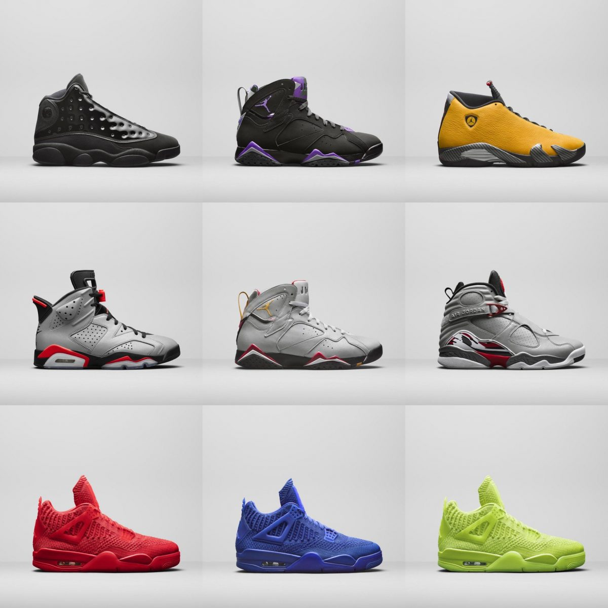 all jordan brand shoes