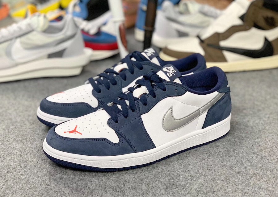 eric koston air jordan 1 low