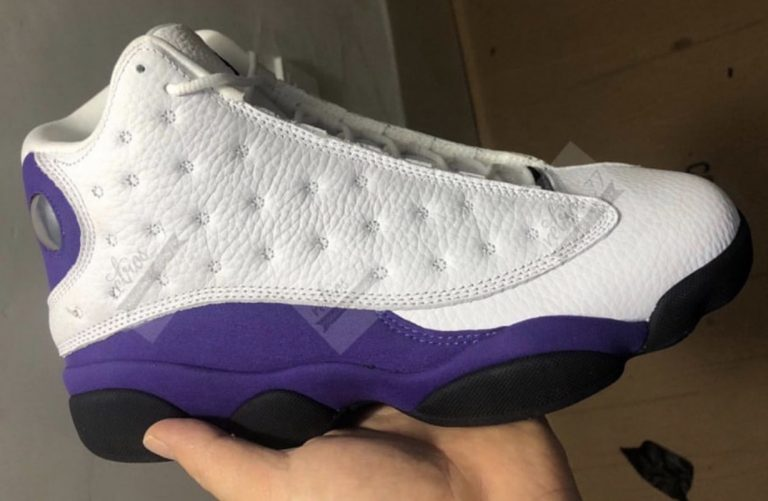 First look at the Air Jordan 13 Lakers