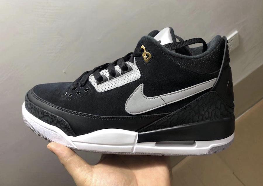 "Air Jordan 3 Tinker ""Black Cement"""