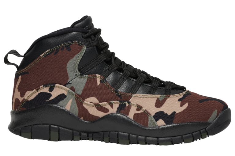 An Air Jordan 10 'Camo' Will Be Releasing In August