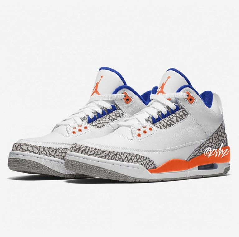 Air Jordan 3 'Knicks'