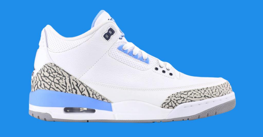 Air Jordan 3 UNC Has a Release Date