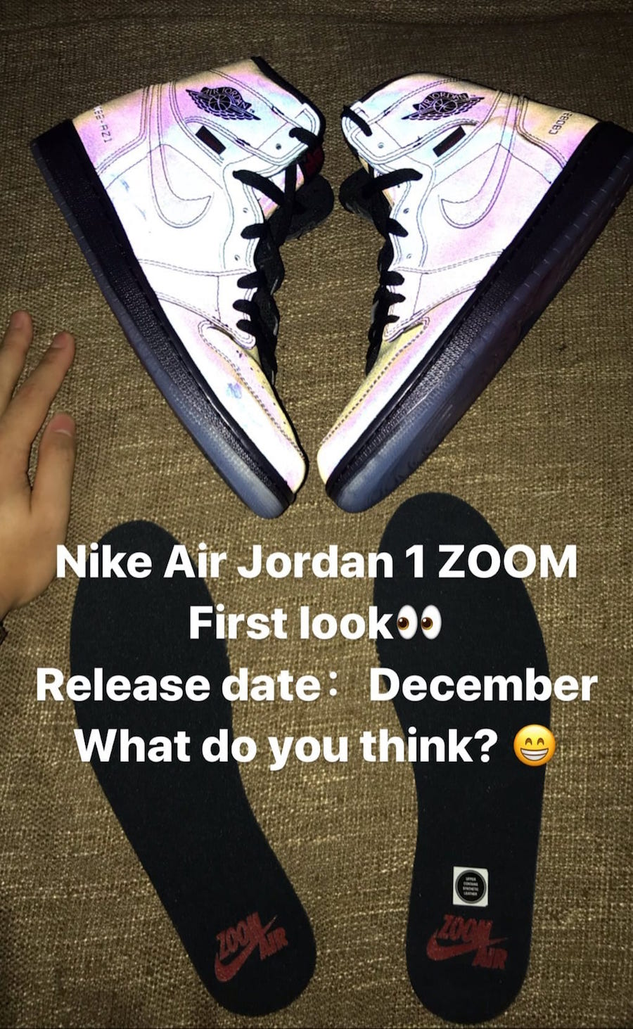 Air Jordan 1 High Zoom Air