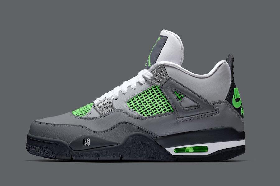 Air Jordan 4 Neon Has a Release Date