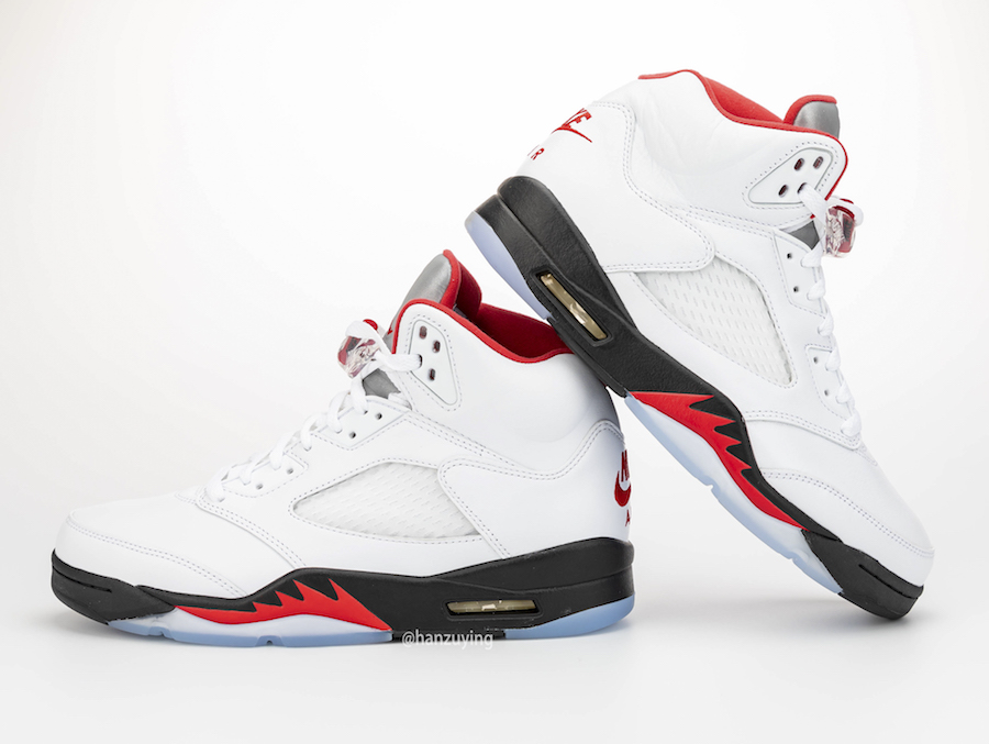 Jordan 5 Fire Red | Dailysole
