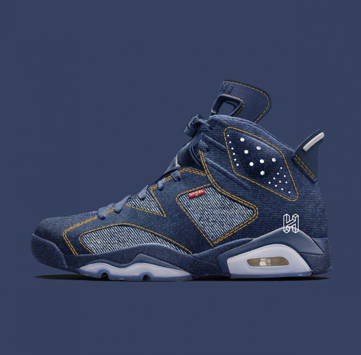 Levi's & Jordan Brand Linking Up Next On The Air Jordan 6