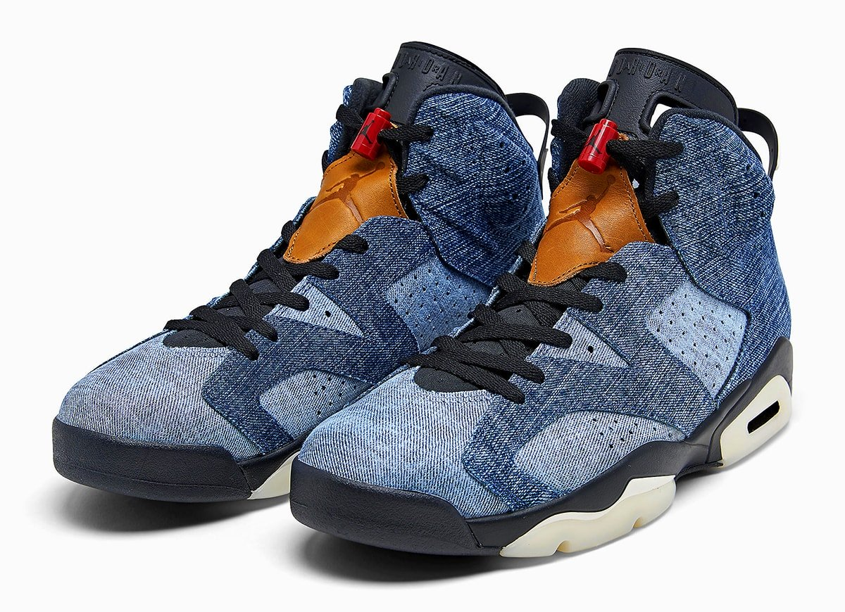 Air Jordan 6 Washed Denim