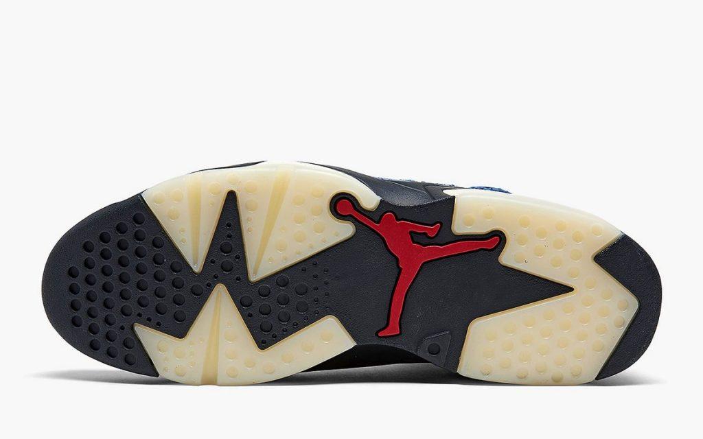Air Jordan 6 Washed Denim in Detailed