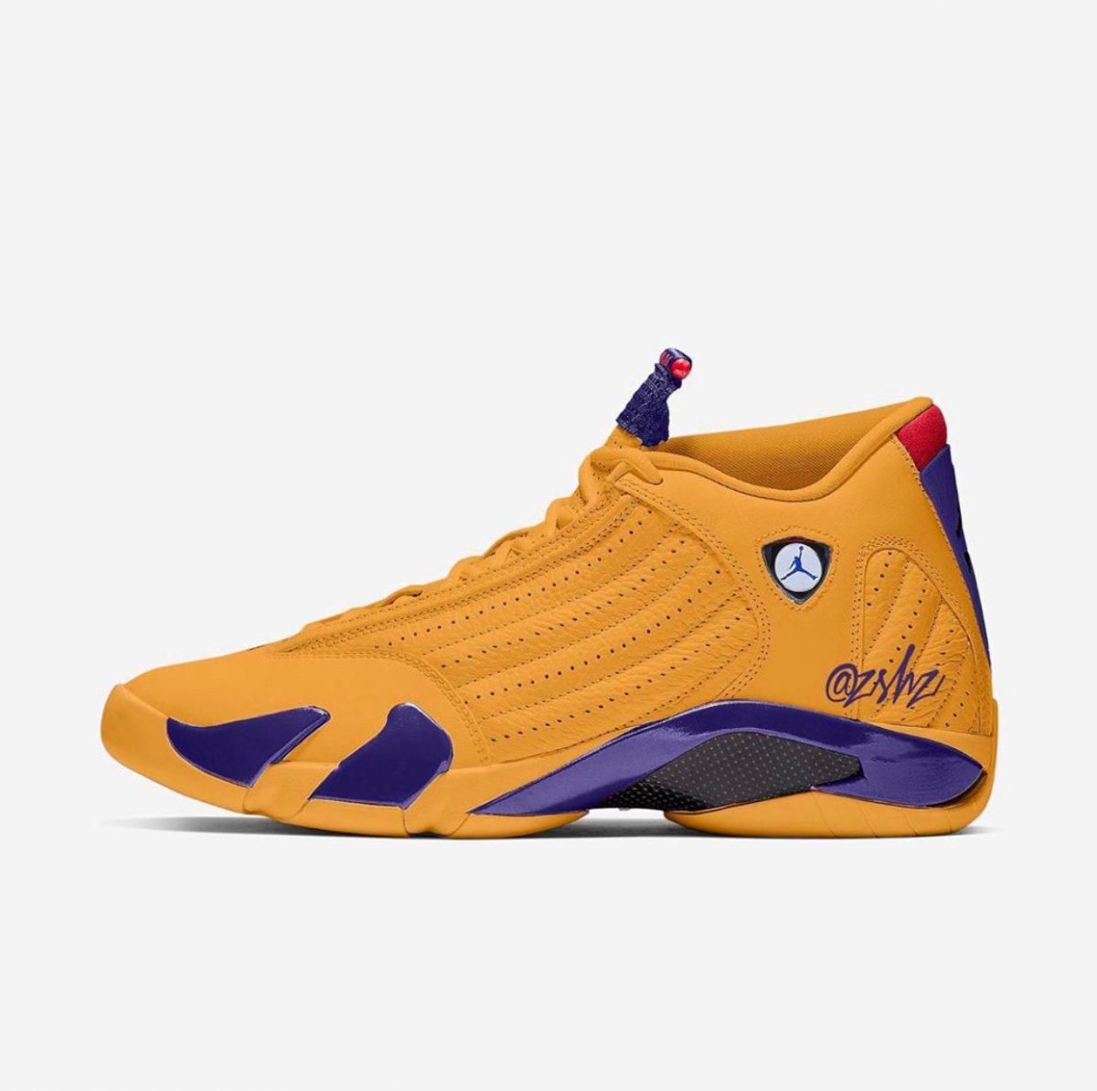 Air Jordan 14 University gold