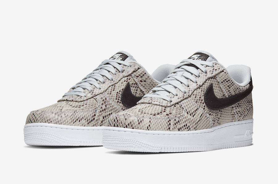 Nike Air Force 1 Snakeskin BQ4424-100 Release Date