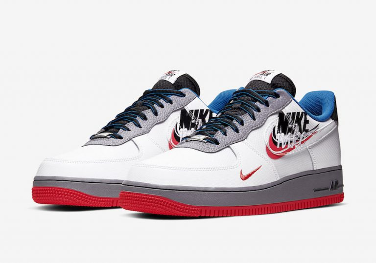 Nike Will Be Releasing A New Colorway Of The Air Force 1 'Script Swoosh'