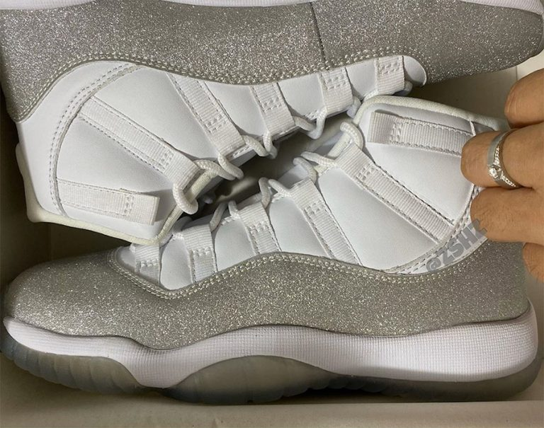 First Look at the WMNS Air Jordan 11 Vast Grey