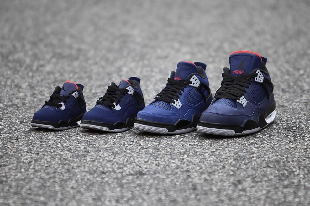 Air Jordan 4 Loyal Blue On Feet CQ9597-401 Release Date