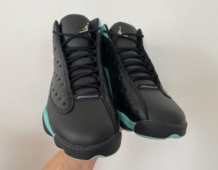 Air Jordan 13 Island Green On Feet 414571-030 Release Date