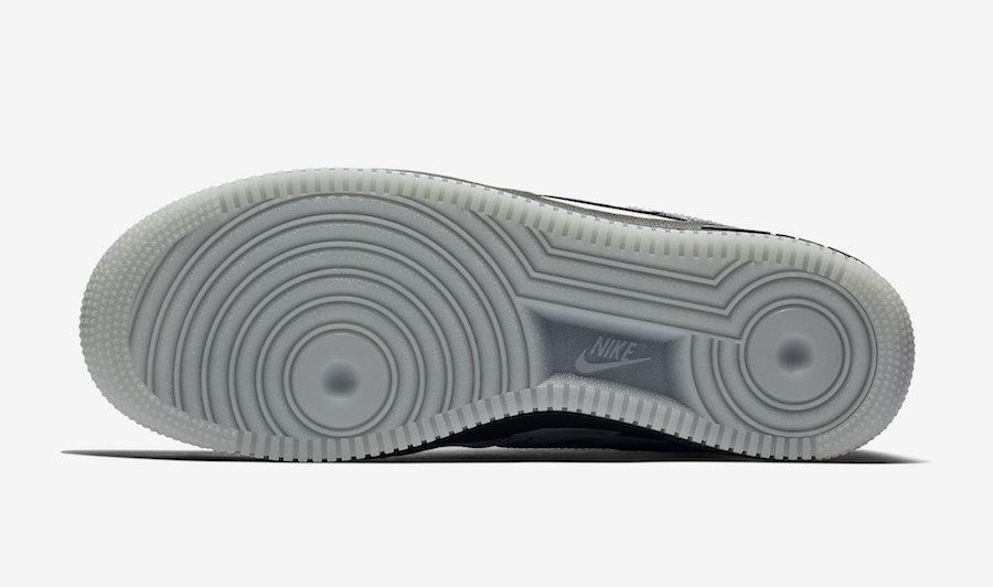 Nike Air Force 1 Skeleton Release Date BQ7541-001