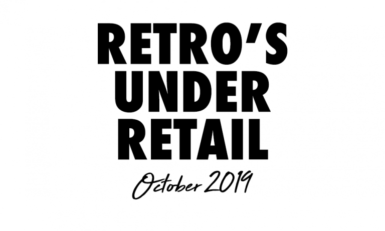 Retro's Under Retail: October 2020