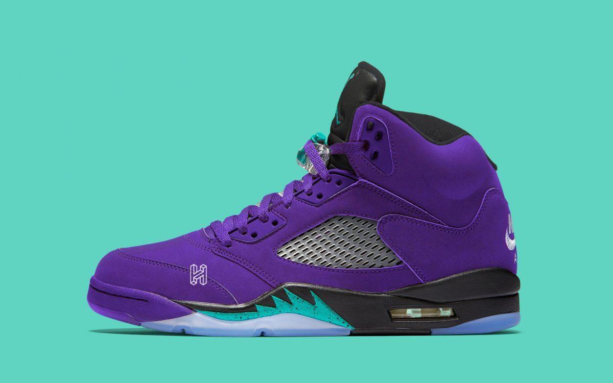 The Air Jordan 5 Alternate Grape Has a Release Date