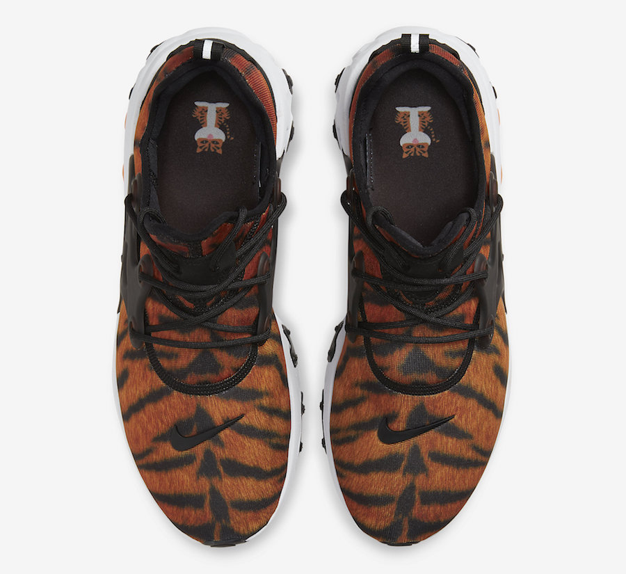 Nike React Presto Tiger CN7664-800 Release Date