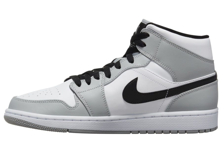 Air Jordan 1 Mid Smoke Grey Release Date 554724-092