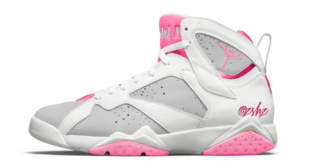 Air Jordan 7 Pink Foam