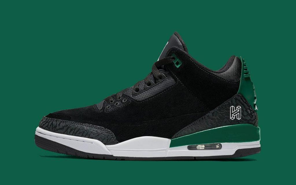Air Jordan 3 Gorge Green