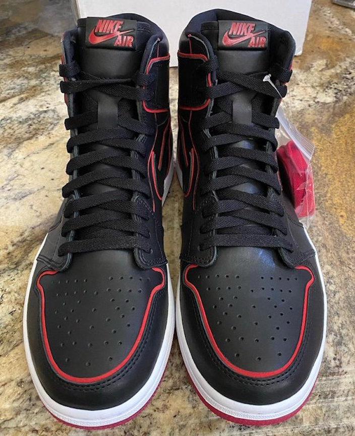 Nike Air Jordan 1 Hi Black Bloodline
