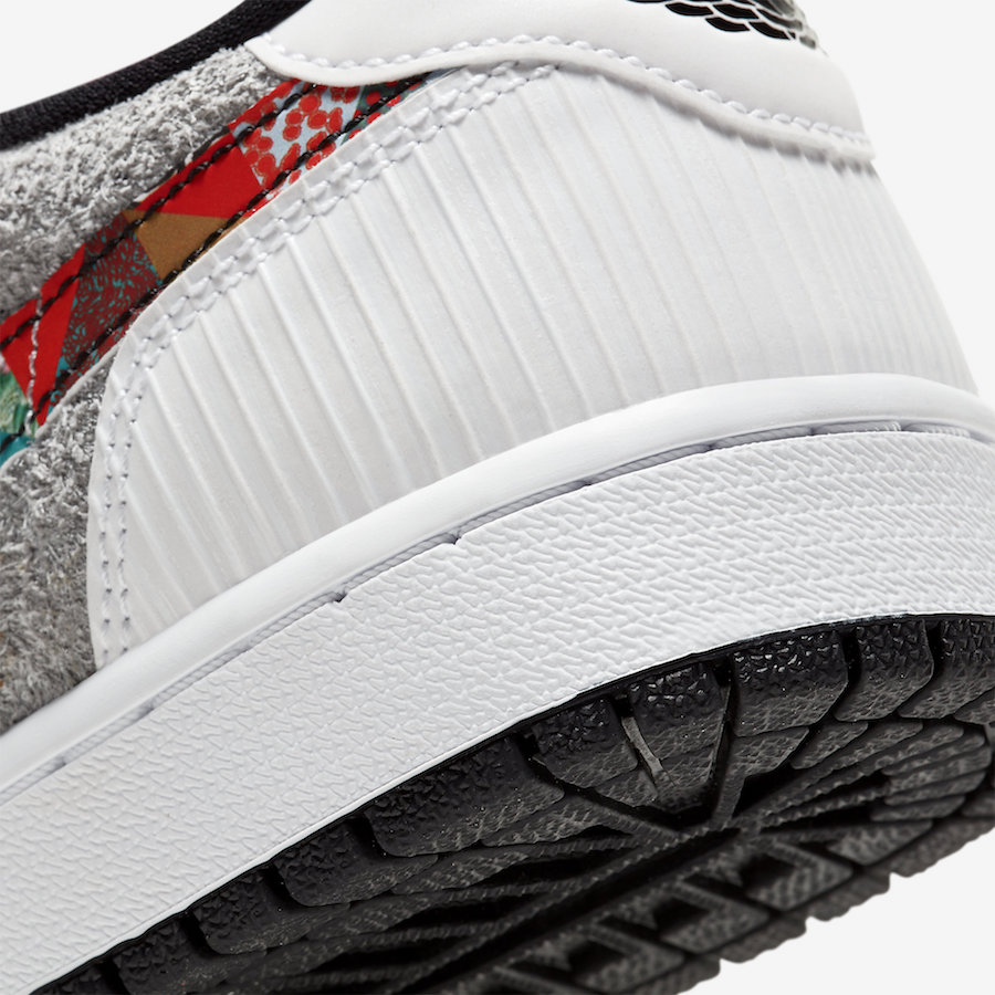 THE AIR JORDAN 1 LOW OG CNY LIMITED TO 5000 PAIRS