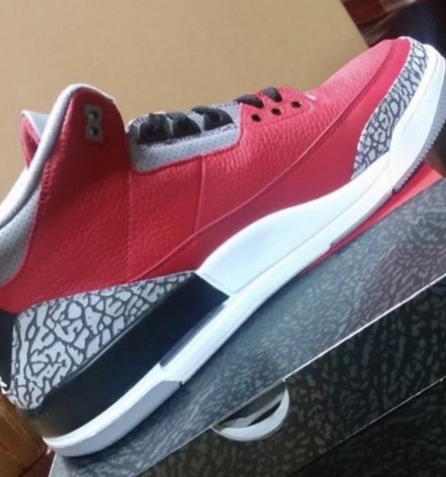 Air Jordan 3 SE Red Cement