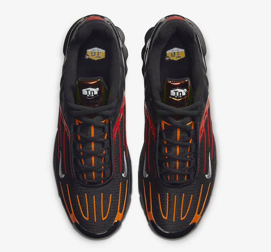 Nike Air Max Plus 3 Black Orange Red CV1643-001 Release Date