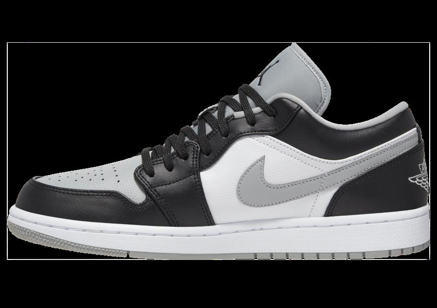 Air Jordan 1 Low Light Smoke Grey Release Date 553558-039