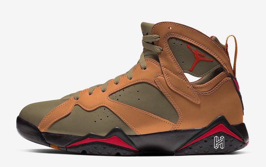 "The Air Jordan 7 ""Olive Flak"" Releasing Spring 2020"