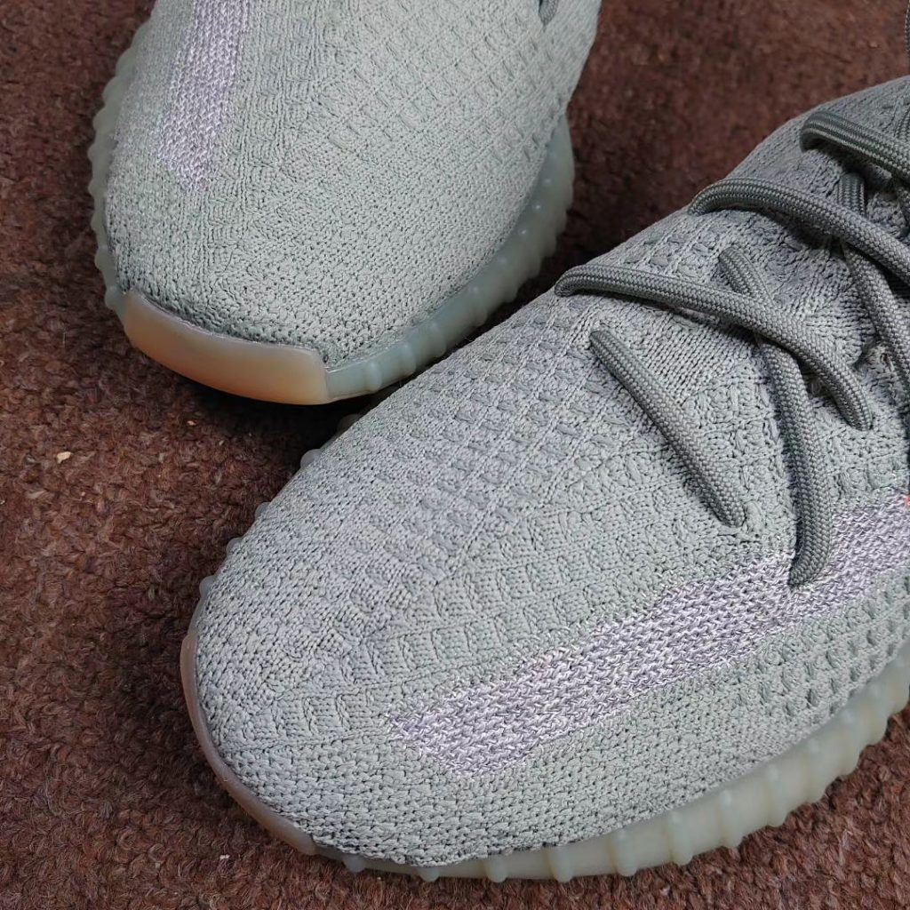On- Feet Look of The adidas Yeezy Boost 350 V2 Desert Sage