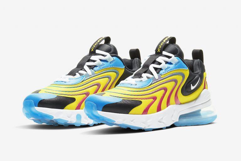 Nike Air Max 270 React 2020 CD6870-700 CD6870-600 Release Date