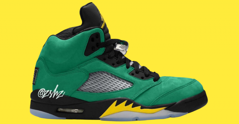 Air Jordan 5 Oregon Ducks Have a Release Date