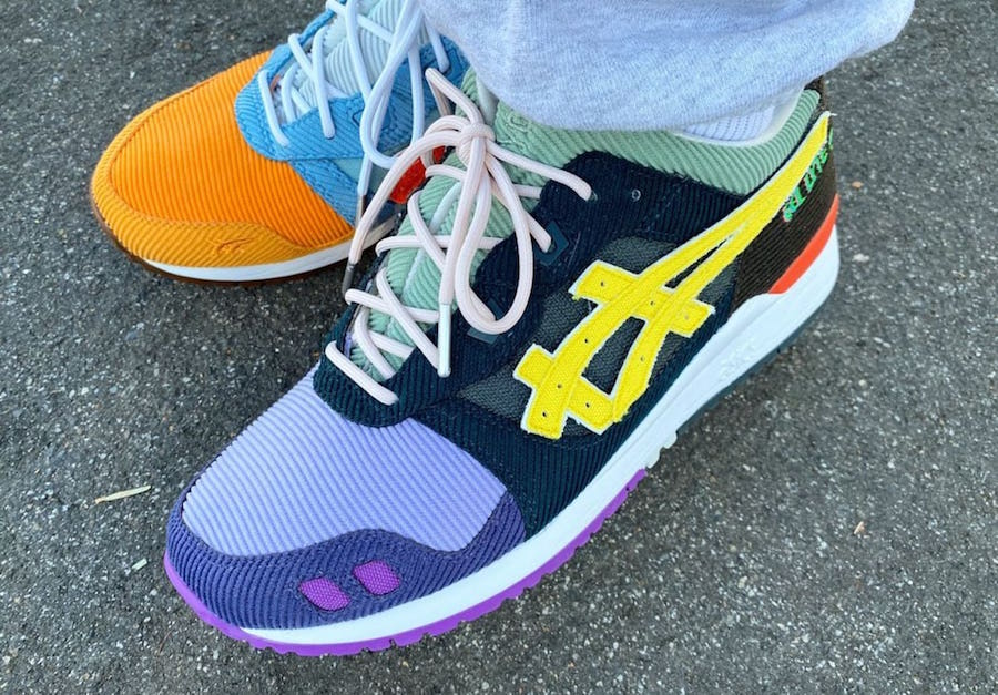 Sean Wotherspoon ASICS Gael Lyte lll 3 Release Date