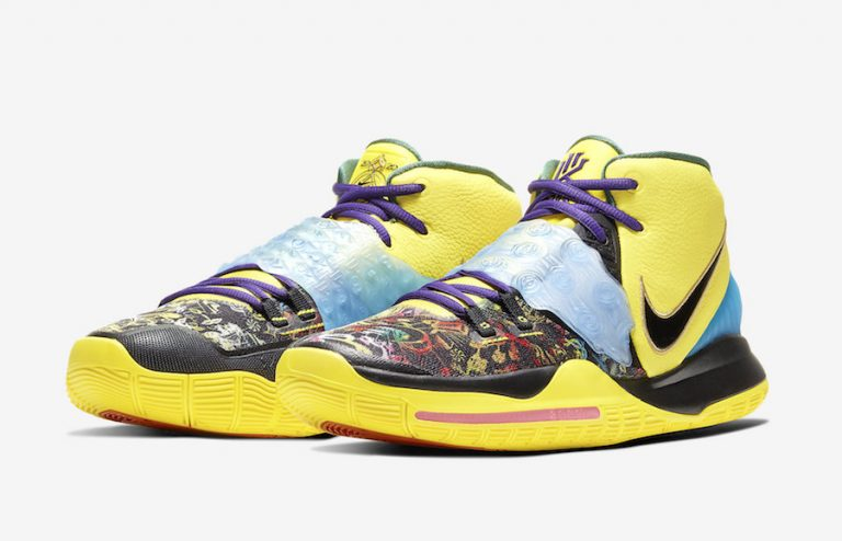 Nike Kyrie 6 Chinese New Year Yellow CD5029-700 Release Date