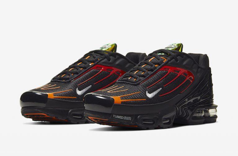 Nike Air Max Plus 3 Black Orange Red CV1643-001 Release Date