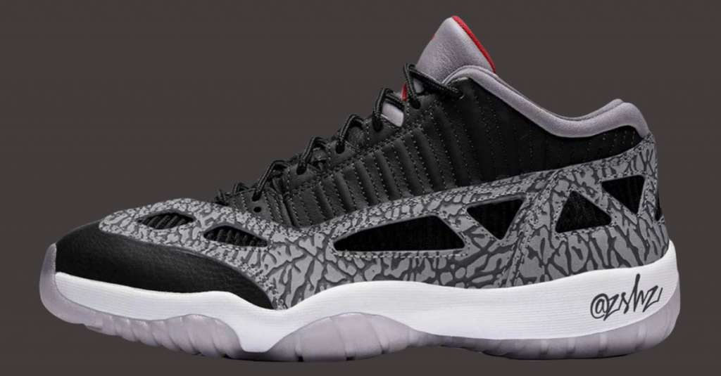 Air-Jordan-11-Low-IE-Black-Cement-Release-Date