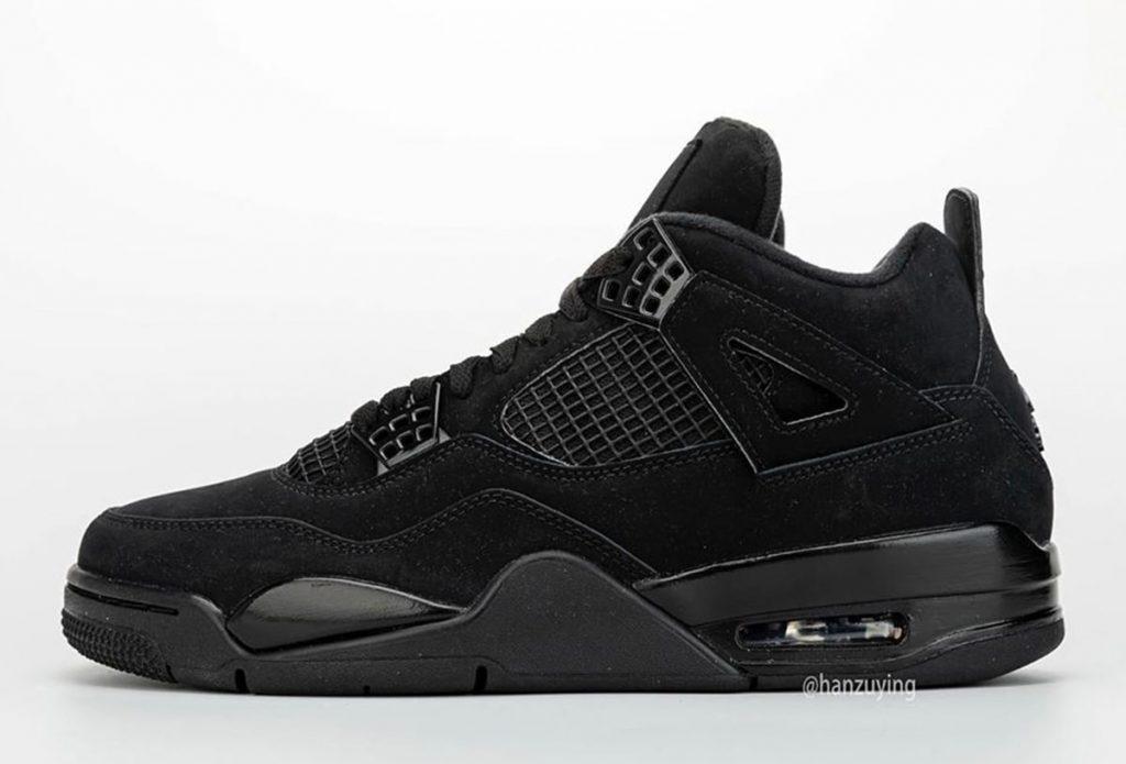 Jordan 4 Black Cat in Full Detailed Look