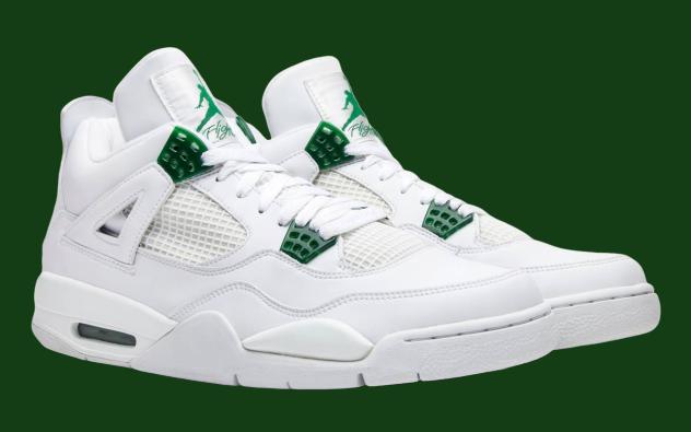 Air Jordan 4 Classic Green