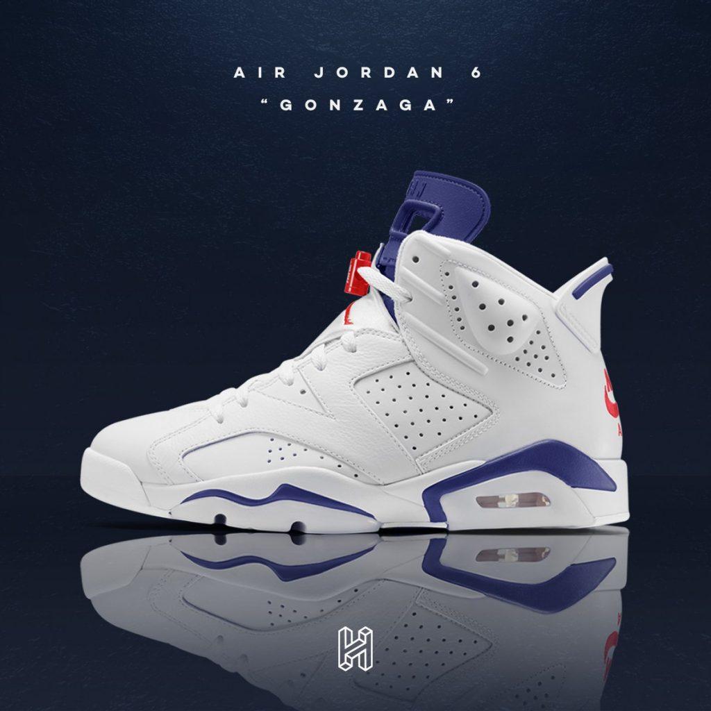 Air Jordan 6 Gonzaga