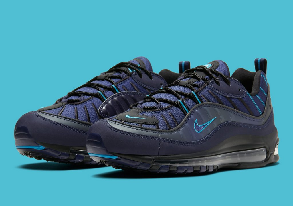 Nike Air Max 98 Appears in Dark Navy and UNC Blue