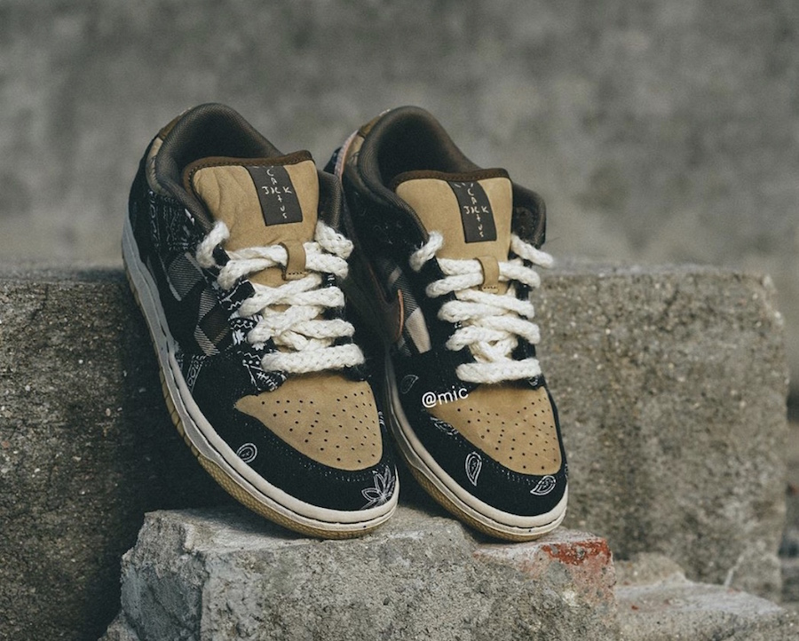 Release Date of The Travis Scott x Nike SB Dunk Low