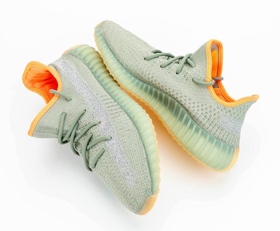 adidas Yeezy Boost 350 V2 Desert Sage FX9035 Release Date