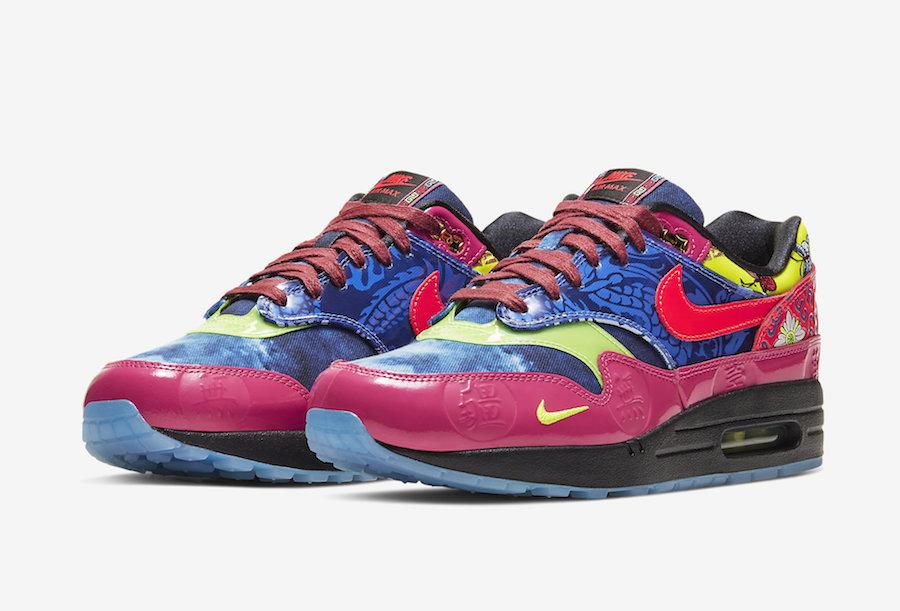Nike Air Max 1 CNY Longevity CU8861-460 Release Date