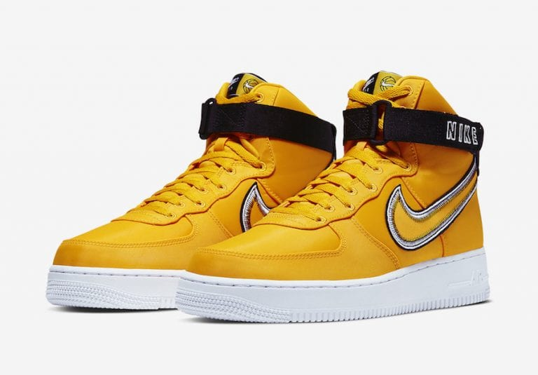 Nike Air Force 1 High University Gold CD0911-700 Release Date