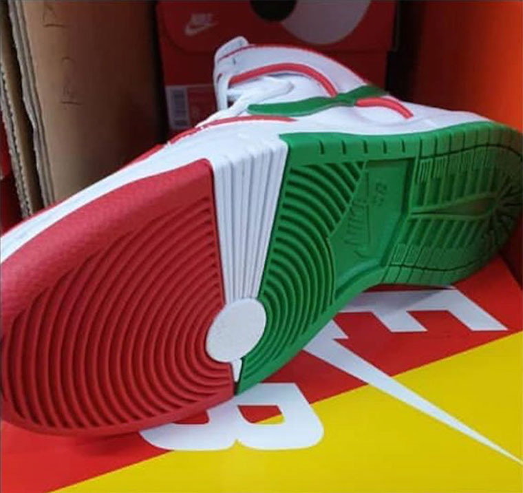 Official Look at Paul Rodriguez x Nike SB Dunk High Mexican Boxing