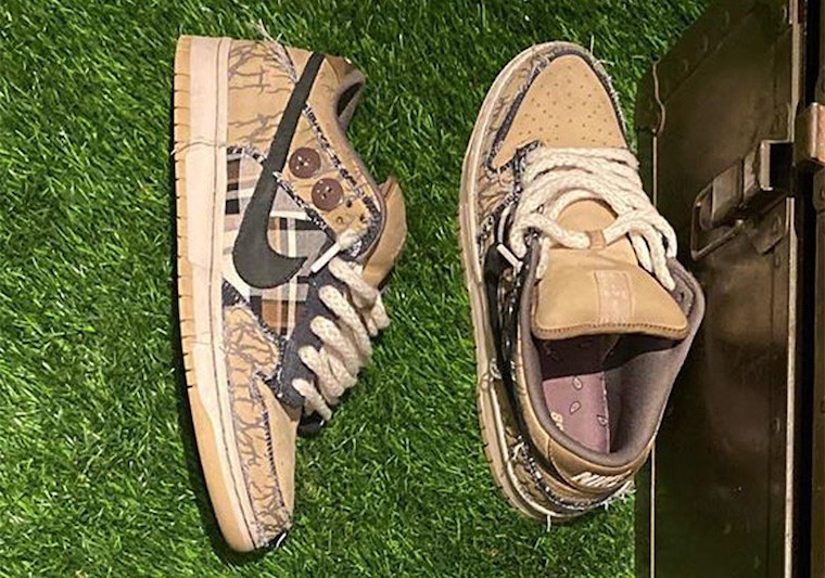 Travis Scott Nike SB Dunk Low Release Date
