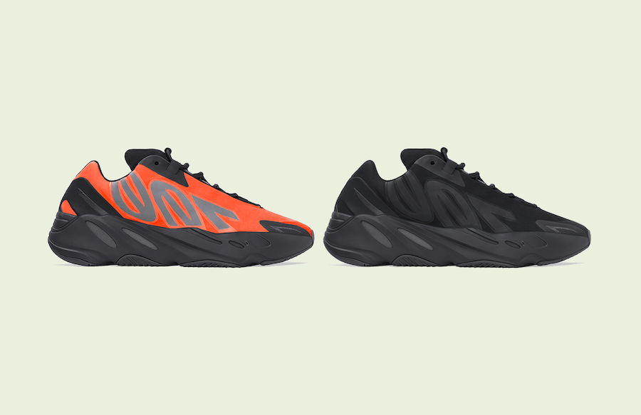adidas 700 MNVN Orange Triple Black Release Date